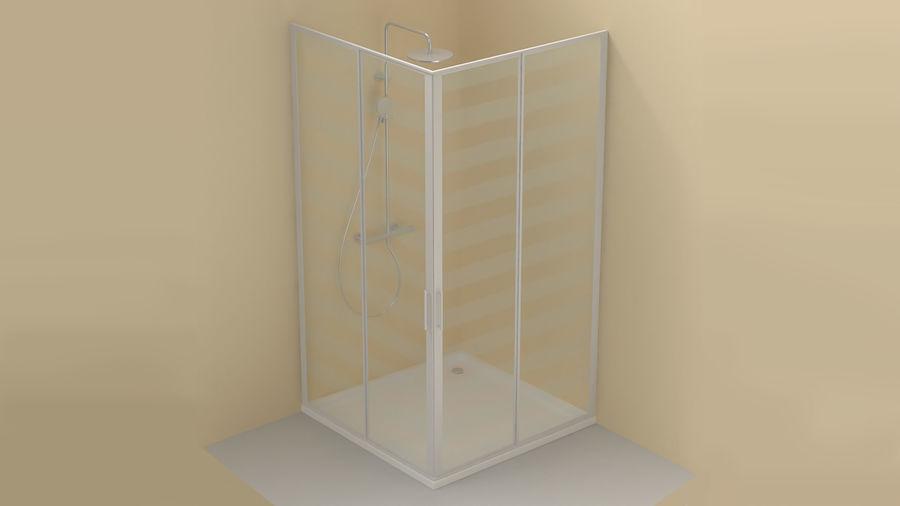 Duş Kabini 3D Model royalty-free 3d model - Preview no. 7