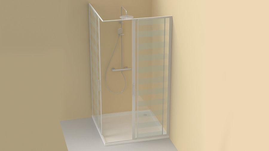 Duş Kabini 3D Model royalty-free 3d model - Preview no. 5