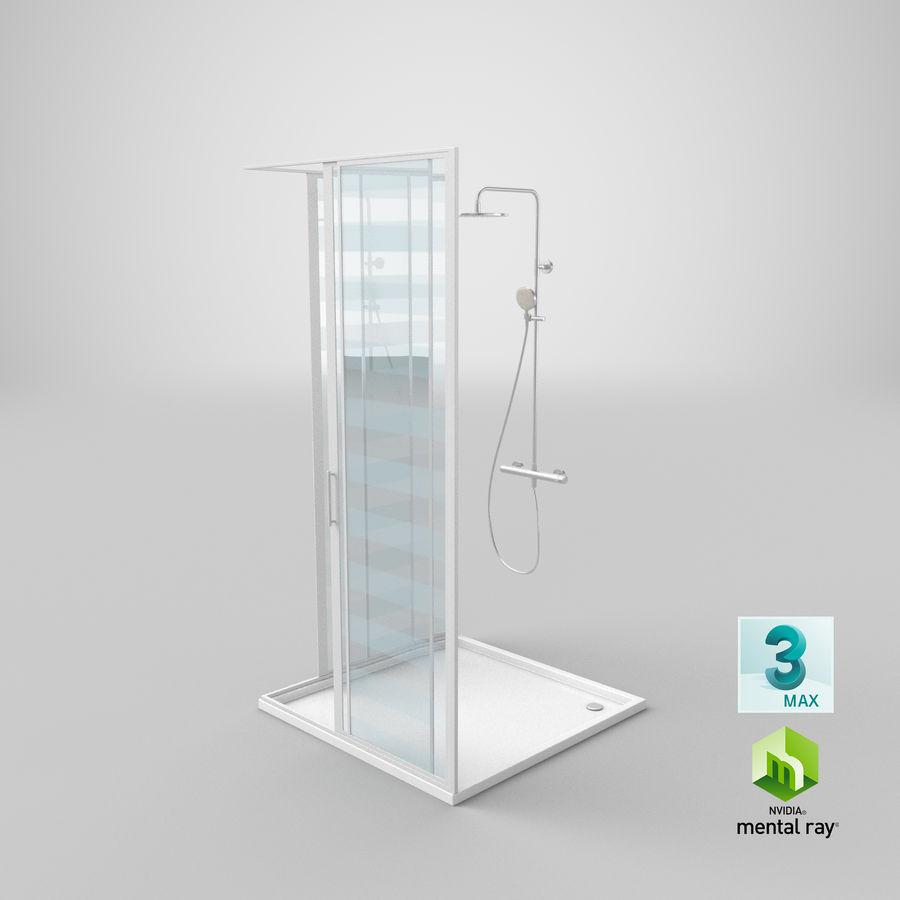 Duş Kabini 3D Model royalty-free 3d model - Preview no. 21