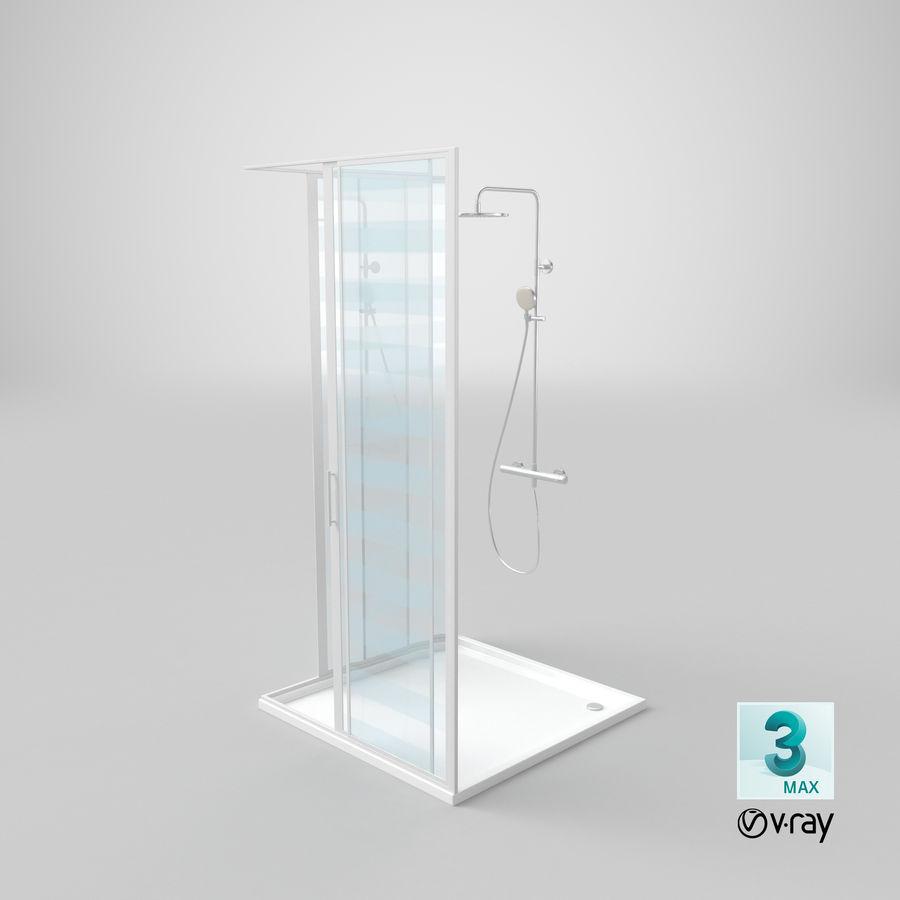 Duş Kabini 3D Model royalty-free 3d model - Preview no. 22