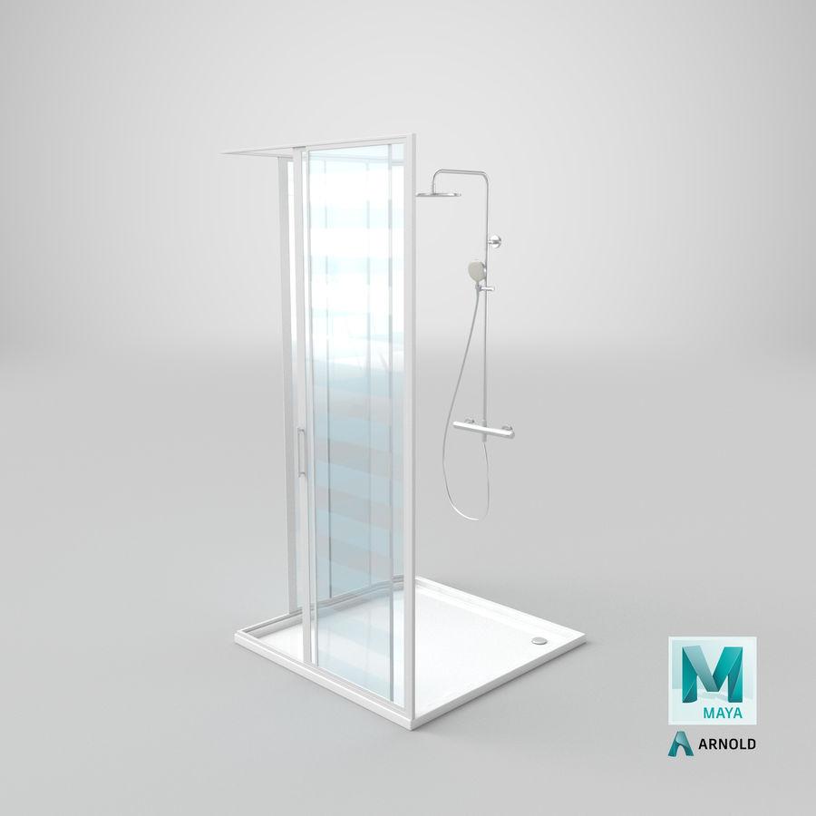 Duş Kabini 3D Model royalty-free 3d model - Preview no. 23