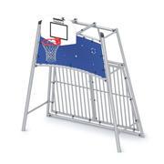 Outside basketball goal 3d model