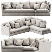 Flexform Victor Chaise Lounge 3d model