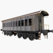 Passenger Car 3d model