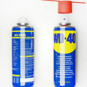 WD 40 spray lubricant grease 3d model