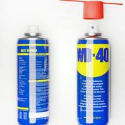 Graisse lubrifiante en spray WD 40 3d model