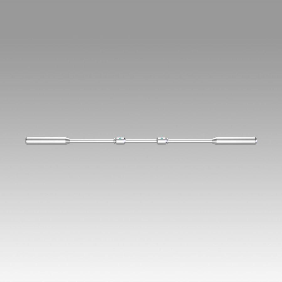 ファイナルファンタジーエアリスコスプレウェポンプロップ royalty-free 3d model - Preview no. 7