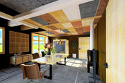 Sala de almoço 3d model