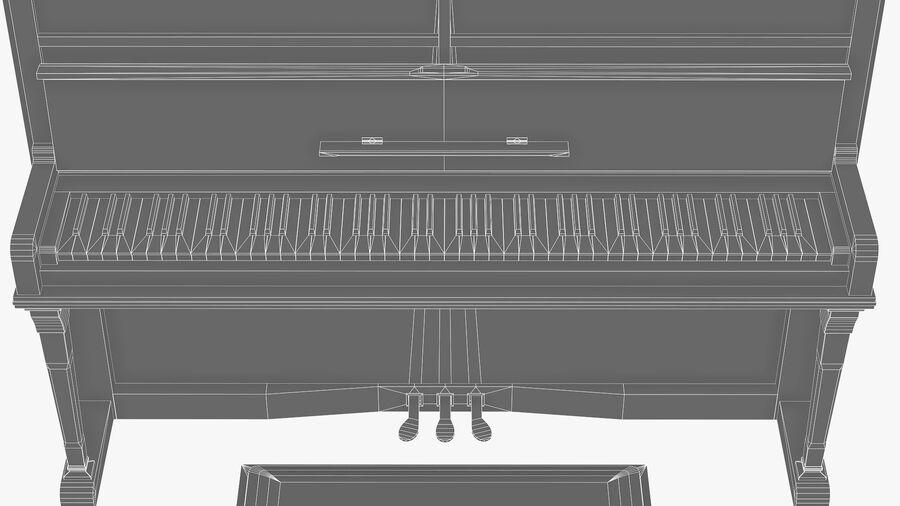 Klavier royalty-free 3d model - Preview no. 10