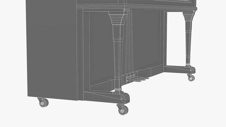Klavier royalty-free 3d model - Preview no. 11