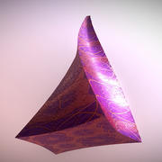 Truncated Twisted Pyramid 3d model