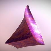 截断的扭曲金字塔 3d model