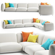Paola Lenti MELLOW Sofa 3d model