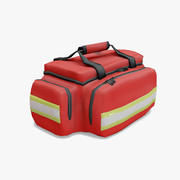 Bolso paramédico Lowpoly modelo 3d