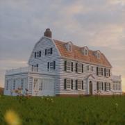 Gioco realistico di Horror Amityville House PBR pronto 3d model