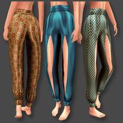 Pantalones harén modelo 3d