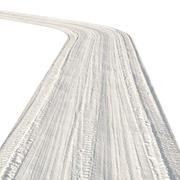Winter single-lane road 3d model
