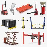 Garage Equipment Collection 3 3d model