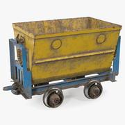 Min vagn dammig 3d model