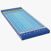 Pool de competição 3d model