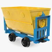 Vagão de mina 3d model