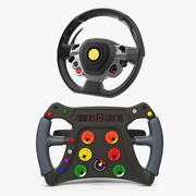 Steering Wheels Collection 3 3d model