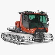 Snowy Snowcat Generiek 3d model