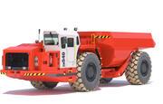 Underground Mining Truck Sandvik TH540 3d model