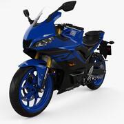 Yamaha YZF-R3 2019 년 3d model