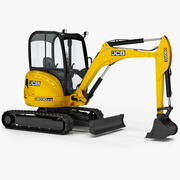 Excavator JCB 8030 ZTS 3d model