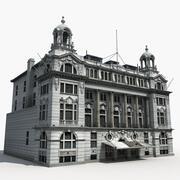 欧洲建筑09 3d model