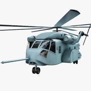 CH-53K Helicopter 3d model