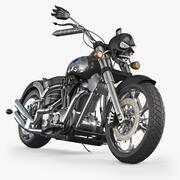 オートバイのコンセプト 3d model
