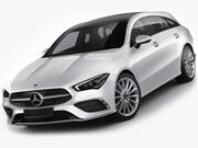 Mercedes CLA Atış Molası 2020 3d model