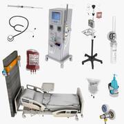 Hastane Ekipman Koleksiyonu 3d model