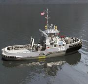 軍事タグボート 3d model