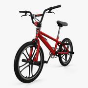 マングースBMX自転車 3d model