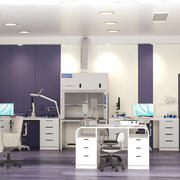 Wissenschaftliches Labor Tageslicht 3d model