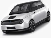 혼다 E 2020 3d model