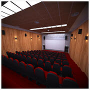 Piccolo Cinema Auditorium 3d model