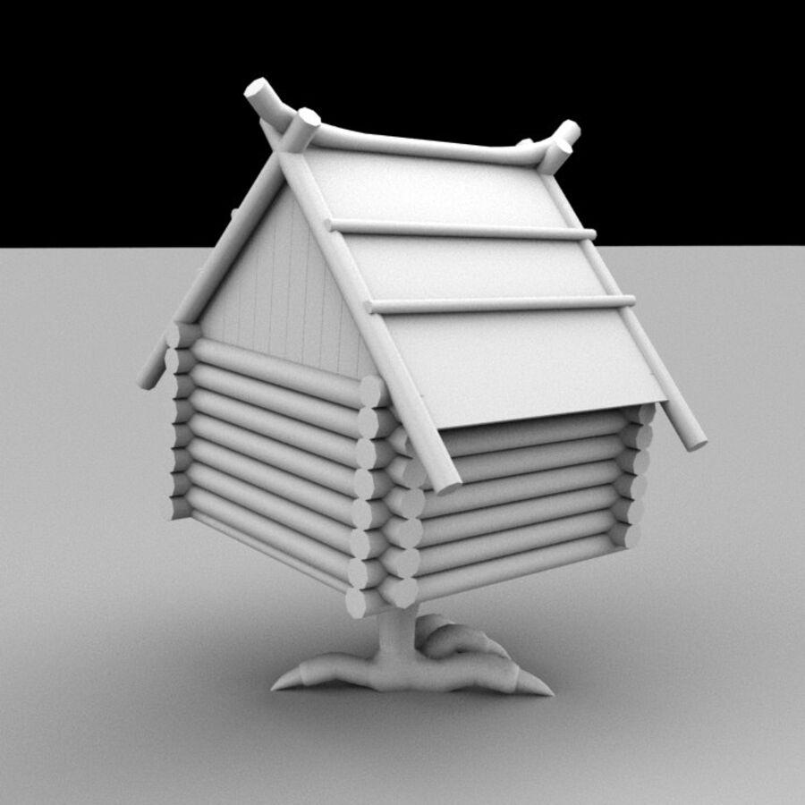 우화 오두막 royalty-free 3d model - Preview no. 4