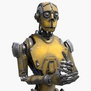 Robot İşçisi 3d model