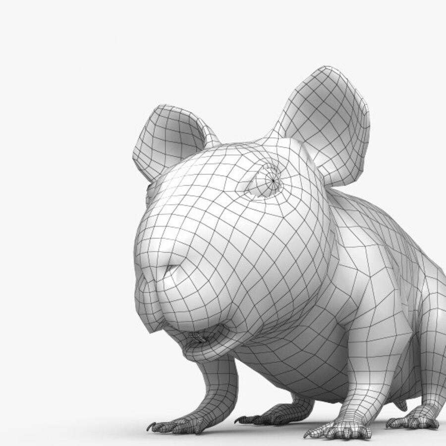 Meerschweinchen HD royalty-free 3d model - Preview no. 7