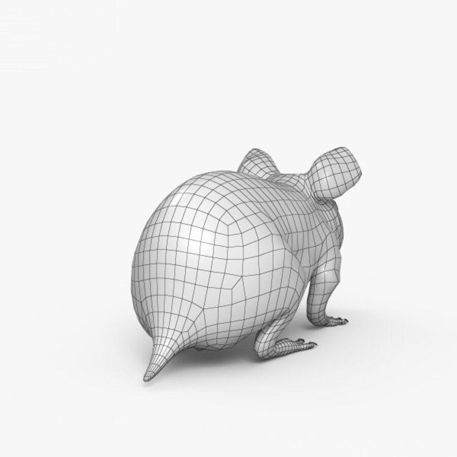 Meerschweinchen HD royalty-free 3d model - Preview no. 15