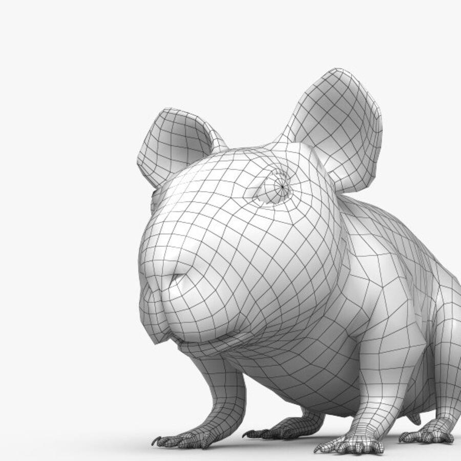 Meerschweinchen HD royalty-free 3d model - Preview no. 5