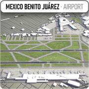 メキシコシティ国際空港 3d model