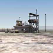 Ponto de verificação de fronteira 3d model