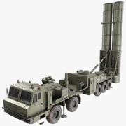 S-500 Missile System - Russian Air Defense 3d model