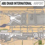 アブダビ国際空港 3d model