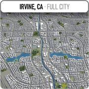 アーバイン-都市とその周辺 3d model